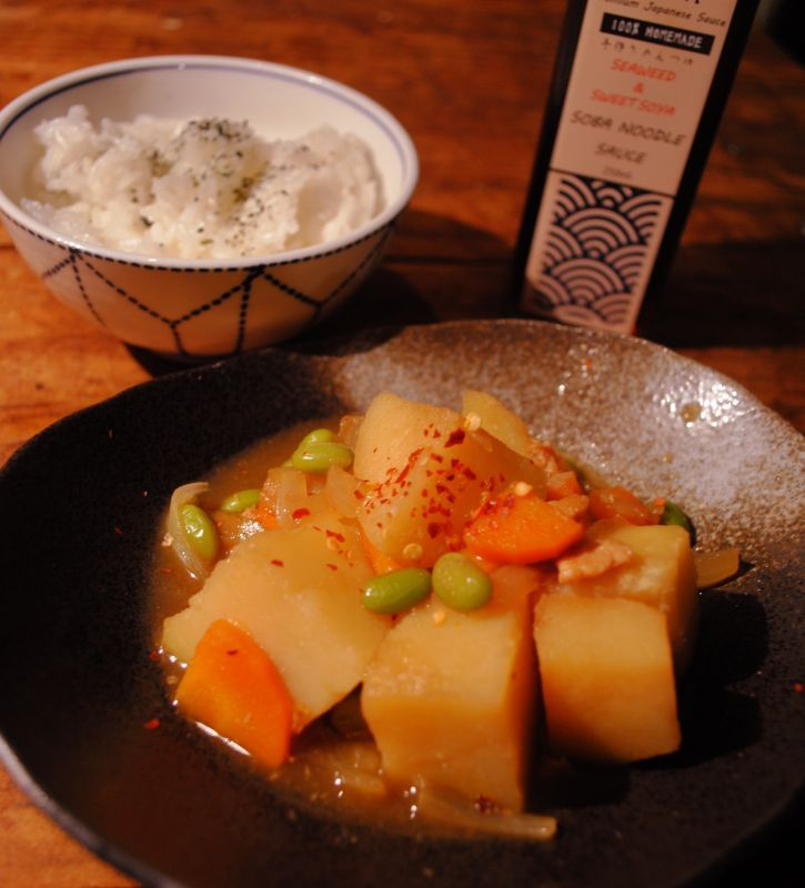 NIKUJAGA - simmered meat and potatoes Recipe